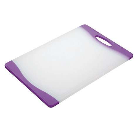 Kitchencraft - Purple +Colourworks+ chopping board