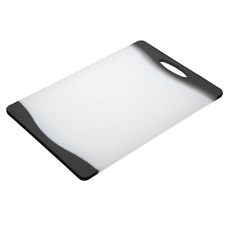 Kitchencraft - Black +Colourworks+ chopping board