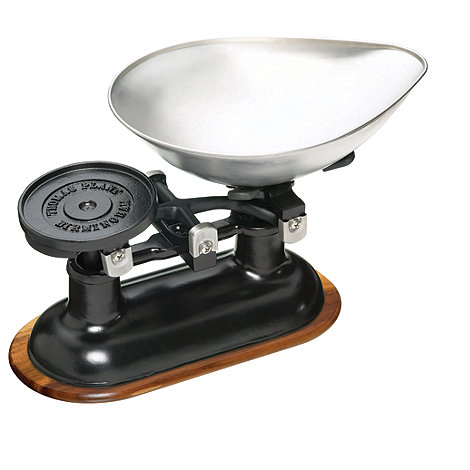 Kitchencraft - Cast iron 38cm mechanical weighing scales
