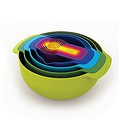 Joseph Joseph - Nest 9 Plus 9-piece food preparation set in multi-colour