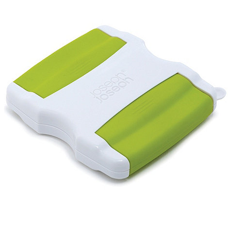 Joseph Joseph - Switch self-storing twin bladed peeler in white and green