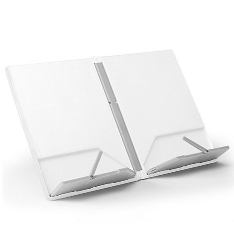 Joseph Joseph - CookBook compact folding bookstand in white and grey