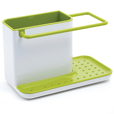 Joseph Joseph - Caddy sink area organiser in white and green