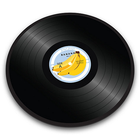Joseph Joseph - Worktop Saver multi-purpose board with banana vinyl record design