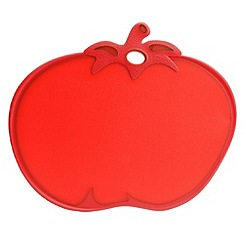 David Mason Design - Red Tomato Cut & Serve Chopping Board