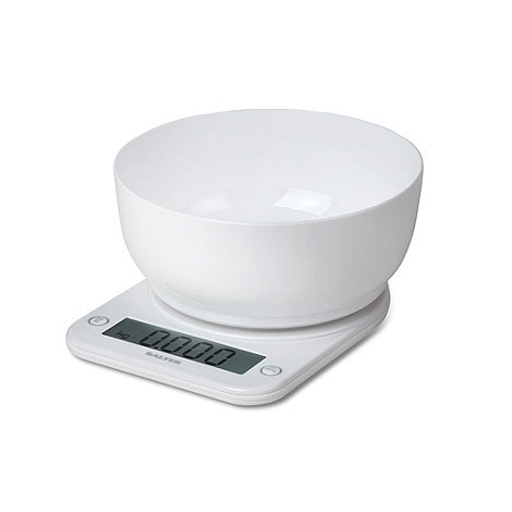 Salter - White +Supersize+ 1029 bowl scale