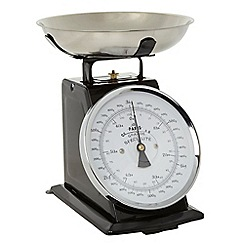 Debenhams - Black 3kg mechanical scales