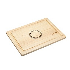 Masterclass - Masterclass Rubberwood Carving Board with Spike