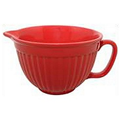 Mason Cash - Red stoneware batter bowl