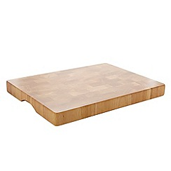 Home Collection - Rubber wood end grain chopping board