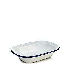 Home Collection - Enamel small pie dish