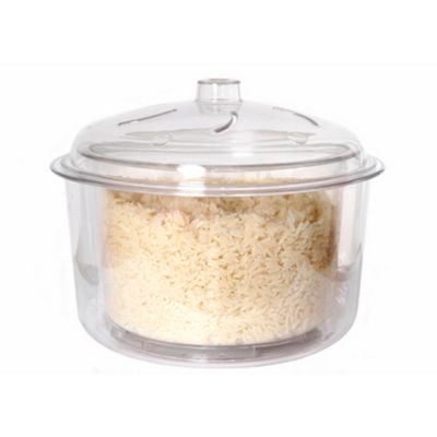 Dexam microwave rice & vegetable steamer - -