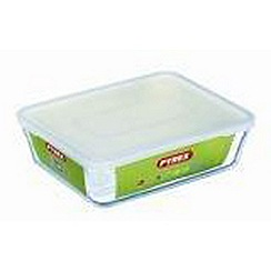 Pyrex - Pronto 1.5l glass storage container & 4.0l storage container