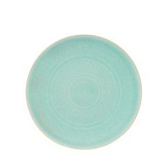 RJR.John Rocha - Turquoise glazed crackle bowl