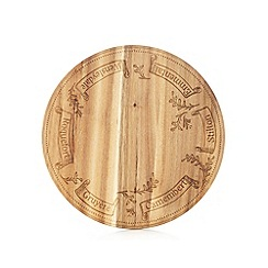 Debenhams - Wood round cheeseboard