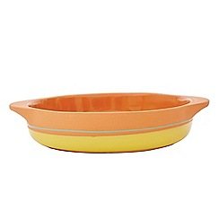 Jamie Oliver - Yellow terracotta rustic al forno pie dish