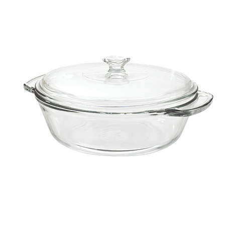 Anchor Hocking - Glass large casserole dish