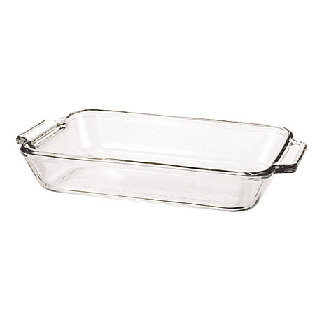 Anchor Hocking - Glass small rectangular dish