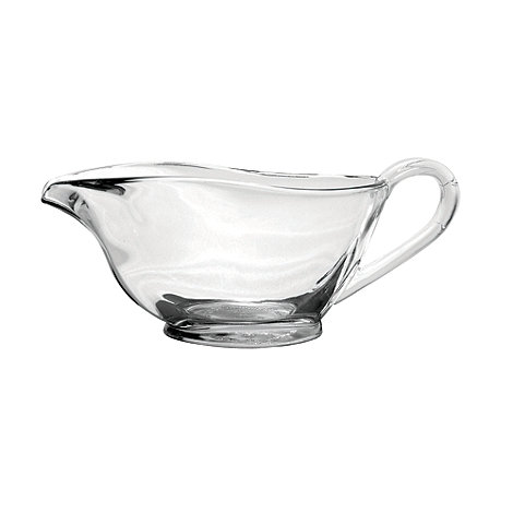 Anchor Hocking - Glass sauce boat