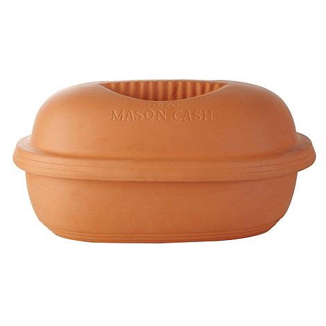 Mason Cash - Earthenware 23cm tan clay oven