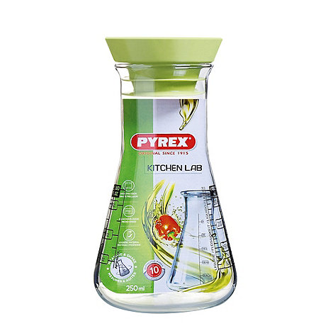 Pyrex - Glass 0.25l kitchen lab flask