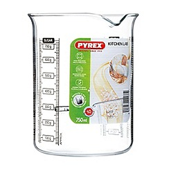 Pyrex - Glass 0.75l kitchen lab beaker