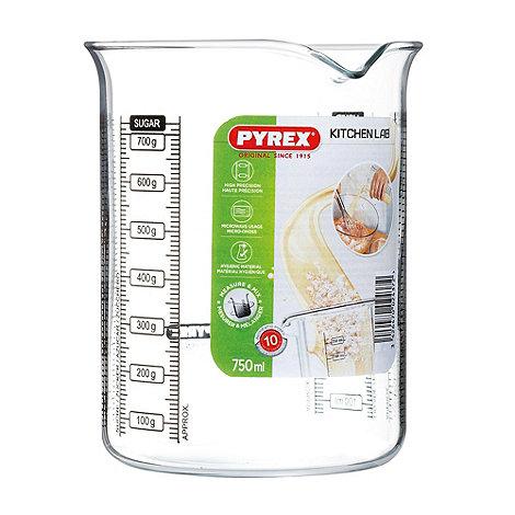 Pyrex - Glass 0.75l kitchen lab beaker