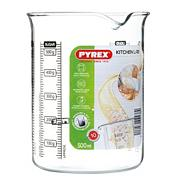 Pyrex glass 0.5l kitchen lab beaker
