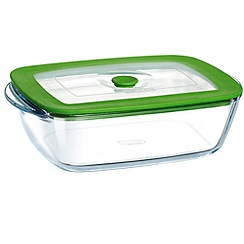 Pyrex - Glass 4 in 1 rectangular dish