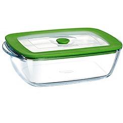 Pyrex - Glass 4 in 1 rectangular dish