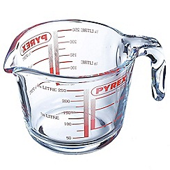 Pyrex - Glass 0.25l measuring jug