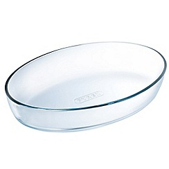 Pyrex - Glass oval roasting dish