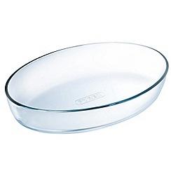 Pyrex - Glass oval roasting dish