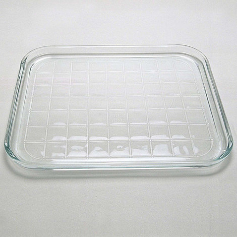 baking in pyrex glass