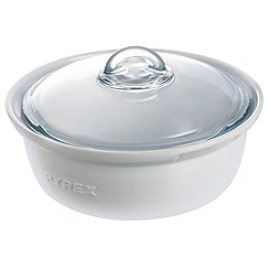 Pyrex - Ceramic 2.5l round casserole dish