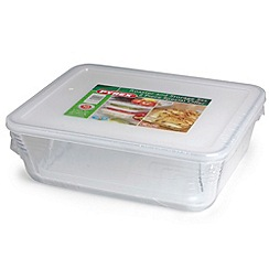 Pyrex - Pyrex 1.5l and 4.2l glass storage containers