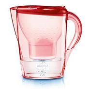Brita plastic 'Rose red' water filter