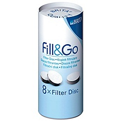 Brita - Fill and Go filter disc refills