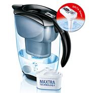 Black Elemaris Brita water filter