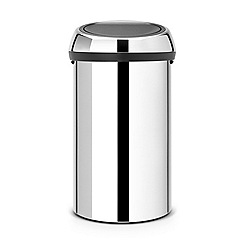 Brabantia - Touch bin 60L brilliant steel