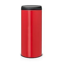 Brabantia - Red 30L flip bin