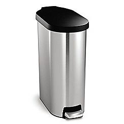 Simplehuman - 45 litre slim pedal bin