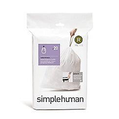 Simplehuman - Code R custom fit bin liners