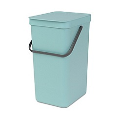 Brabantia - Blue sort and go compact 16L bin