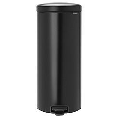 Brabantia - 30L Black Pedal bin