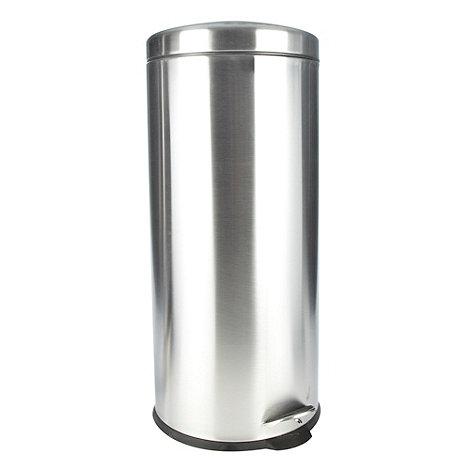 Debenhams - Stainless steel 30 litre pedal bin