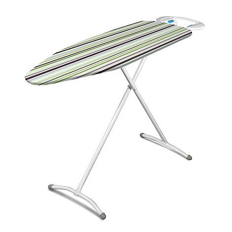 Minky - Turquoise striped ironing board