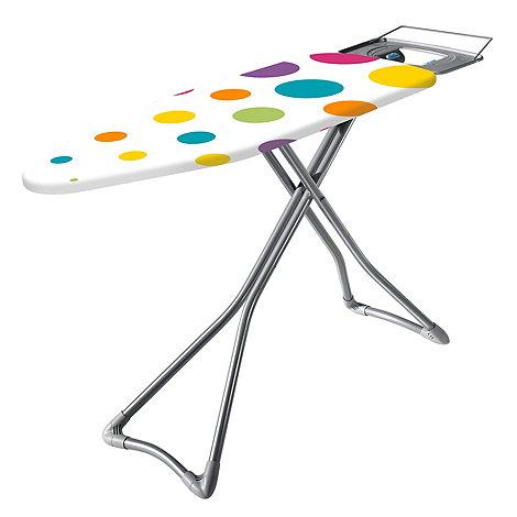 Minky - Polka dot ironing board