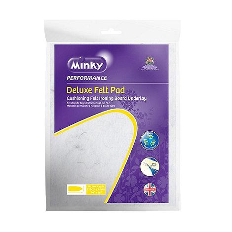 Minky - Felt ironing board pad