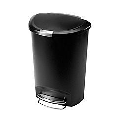 Simplehuman - Plastic 50L swing bin